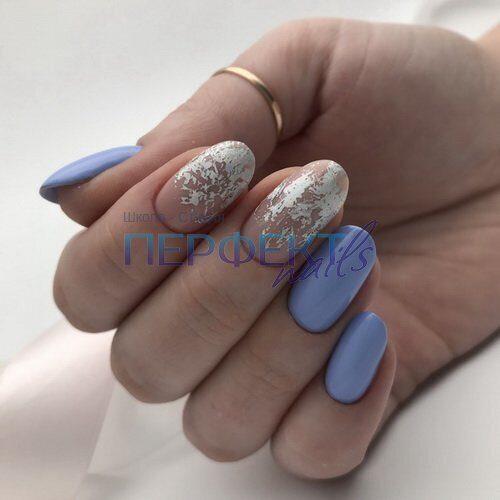 Шеллак На Миндальные Ногти Фото