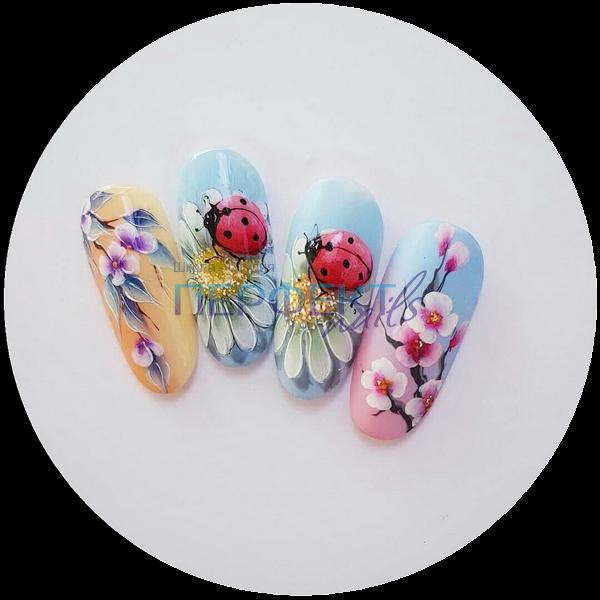 Семинар цветы, все виды техники